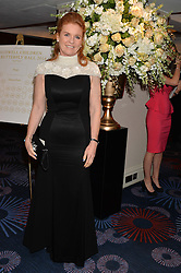 SARAH, DUCHESS OF YORK at the Caudwell Children's annual Butterfly Ball held at The Grosvenor House Hotel, Park Lane, London on 15th May 2014.