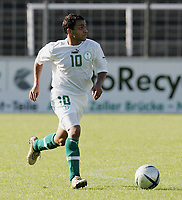 Fotball<br /> Saudi-Arabia / Saudi Arabia<br /> Foto: imago/Digitalsport<br /> NORWAY ONLY<br /> <br /> 08.09.2005  <br /> <br /> Mohammad Al Shlhoub (Saudi Arabien)