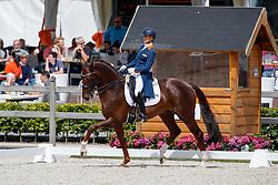 Cornelissen Adeline, NED, Fleau de Baian<br /> Nederlands Kampioenschap Dressuur <br /> Ermelo 2017<br /> © Hippo Foto - Dirk Caremans<br /> 15/07/2017