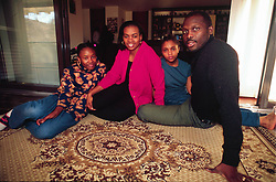 December 29, 2017.Former international soccer star George Weah elected Liberian president / Here with his wife and family.Archive file (Credit Image: © Mantero/Fotogramma/Ropi via ZUMA Press)