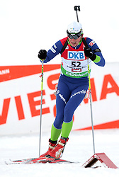 DOKL Peter during the 12.5 km pursuit of the e.on Ruhrgas IBU Biathlon World Cup on Friday December the 12th, 2009 in Hochfilzen - PillerseeTal, Austria. The second e.on Ruhrgas IBU World Cup stage is taking place in Hochfilzen - PillerseeTal, Austria until Sunday the 13th of December.  (Photo by Pierre Teyssot / Sportida.com)