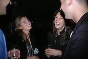 Caren Bell and Lauren Bush. Karl Largerfeld hosts the launche of Dom Perignon Vintage 1998. Skylight Studios. 275 Hudson St. New York. 2 June 2005. ONE TIME USE ONLY - DO NOT ARCHIVE  © Copyright Photograph by Dafydd Jones 66 Stockwell Park Rd. London SW9 0DA Tel 020 7733 0108 www.dafjones.com