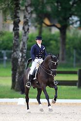 Hoefnagels Francesca (BEL) - Sir Cloud<br /> FEI European Dressage Championship Young Riders - Bern 2012<br /> © Hippo Foto - Leanjo de Koster