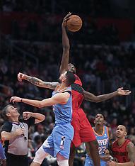 Clippers vs. Trailblazers 18 mar 2018