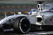 Barcelona, Spain - <br /> <br /> The Williams driver, Valtteri Bottas, in action during the 2nd day of Formula One tests days in Barcelona, 23rd of February, 2016. <br /> ©Exclusivepix Media