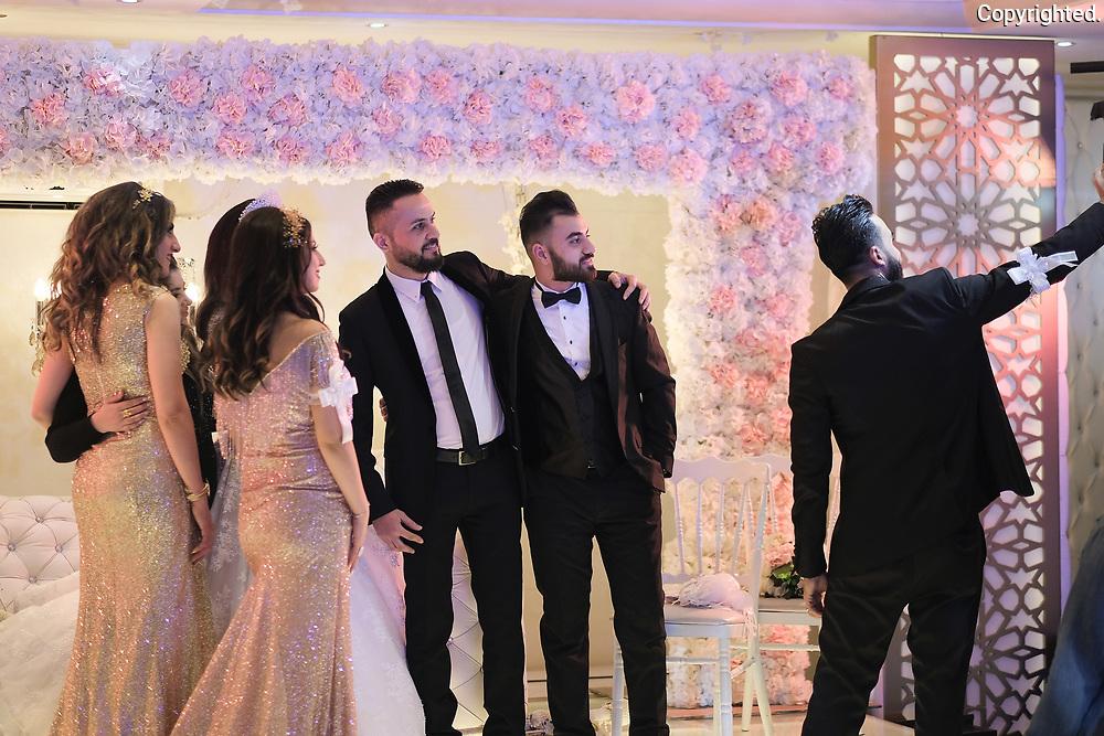 Christian wedding in Amman, Jordan.