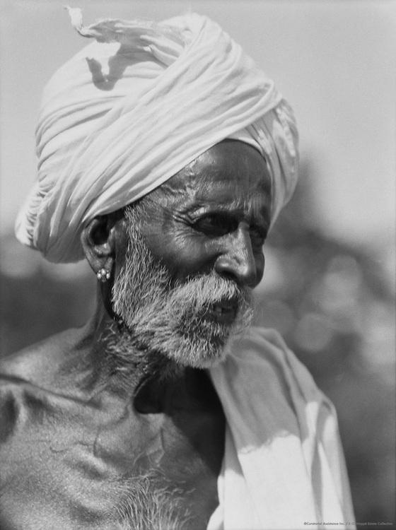 A Telegu Peasant, Guntakal, India, 1929