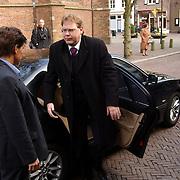 Mattheus Passion 2004 Naarden, Minster Sociale Zaken Aart Jan de Geus