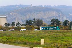 November 19, 2018 - Valence, France - Blocage du depot petrolier de PORTES LES VALENCE  (Credit Image: © Panoramic via ZUMA Press)