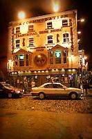 The Oliver St. John Gogarty bar in Dublin, Ireland