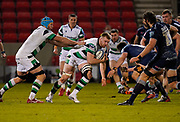 Newcastle Falcons No.8 Callum Chick during a Gallagher Premiership Round 12 Rugby Union match, Friday, Mar 05, 2021, in Eccles, United Kingdom. (Steve Flynn/Image of Sport)