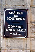 domaine suremain monthelie cote de beaune burgundy france