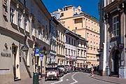 Ulica św. Krzyża w Krakowie, Polska<br /> St. Cross Street in Cracow, Poland