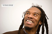 29 January 2010: Poet Benjamin Zephaniah who receivied an honorary degree today at the University of Hull for his contribution to literature...Picture:Sean Spencer/Hull News & Pictures 01482 210267/07976 433960.High resolution picture library at http://www.hullnews.co.uk.©Sean Spencer/Hull News & Pictures Ltd.