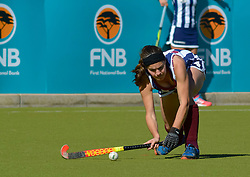 Nicole-Ann Moreby of Bloemhof during day one of the FNB Private Wealth Super 12 Hockey Tournament held at Oranje Meisieskool in Bloemfontein, South Africa on the 6th August 2016<br /> <br /> Photo by:   Frikkie Kapp / Real Time Images