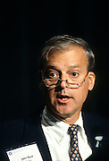 Chairman of the New York Stock Exchange and CEO of Citicorp John Reed September 19, 1996 in Washington, DC.