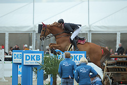 Schafer Kai, (GER), Flight of Ikarus<br /> CSI4* Qualifikation DKB-Riders<br /> Horses & Dreams meets Denmark - Hagen 2016<br /> © Hippo Foto - Stefan Lafrentz