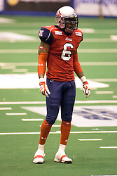 14 March 2009: Peter Warrick. The Sioux Falls Storm were hosted by the Bloomington Extreme in the US Cellular Coliseum in downtown Bloomington Illinois.