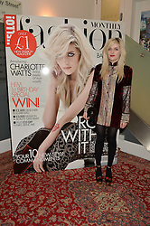 CHARLOTTE WATTS at a party to celebrate the 1st anniversary of Hello! Fashion Monthly magazine held at Charlie, 15 Berkeley Street, London on 14th October 2015.