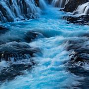 Bruarfoss waterfall, Brekkuskógur, south Iceland