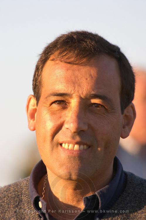 Carlos A Pizzorno owner and wine maker. Bodega Carlos Pizzorno Winery, Canelon Chico, Canelones, Uruguay, South America