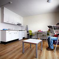 Nederland, Hoofddorp , 25 november 2013.<br /> Nieuwe appartement voor client op de locatie GGZinGeest in Hoofddorp.<br /> Foto:Jean-Pierre Jans