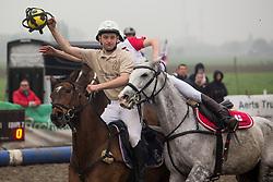 Van Herreweghe Axel, BEL, Princess Querda<br /> BK Horseball 2018<br /> © Sharon Vandeput<br /> 15:46:36