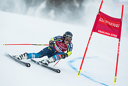 Sara Hector (SWE) during the Ladies' Giant Slalom at 57th Golden Fox event at Audi FIS Ski World Cup 2020/21, on January 16, 2021 in Podkoren, Kranjska Gora, Slovenia. Photo by Vid Ponikvar