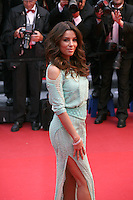 Eva Longoria at the red carpet for the gala screening of Jimmy P. Psychotherapy of a Plains Indian film at the Cannes Film Festival 18th May 2013