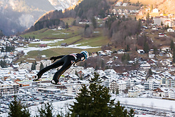 19.12.2015, Gross Titlis Schanze, Engelberg, SUI, FIS Weltcup Ski Sprung, Engelberg, im Bild Andreas Wellinger, Deutschland // during mens FIS Ski Jumping World Cup at the Gross Titlis Schanze in Engelberg, Switzerland on 2015/12/19. EXPA Pictures © 2015, PhotoCredit: EXPA/ Eibner-Pressefoto/ Socher<br /> <br /> *****ATTENTION - OUT of GER*****