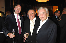 Left to right, LORD BROCKET, ANDREW NEIL and MICHAEL WINNER at a Christmas party hosted by The Business and Alisa Moussaieff held at the Moussaieff showrooms, 172 New Bond Street, London on 5th December 2007.<br /><br />NON EXCLUSIVE - WORLD RIGHTS