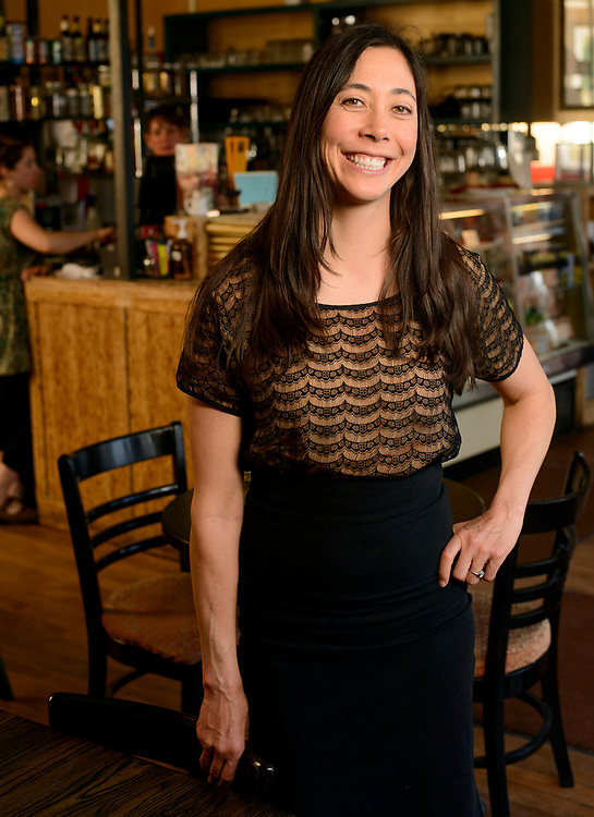 Lotus Cafe owner Amy Young.