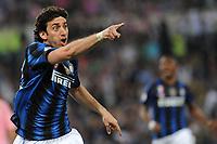 Esultanza Diego Milito (Inter) segna il gol del 3-1<br /> Inter vs Palermo<br /> Tim Cup, finale di Coppa Italia di calcio<br /> Stadio Olimpico, Roma, 29/05/2011<br /> Photo Antonietta Baldassarre Insidefoto