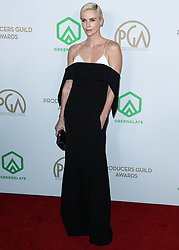 HOLLYWOOD, LOS ANGELES, CALIFORNIA, USA - JANUARY 18: 31st Annual Producers Guild Awards held at the Hollywood Palladium on January 18, 2020 in Hollywood, Los Angeles, California, United States. 18 Jan 2020 Pictured: Charlize Theron. Photo credit: Xavier Collin/Image Press Agency/MEGA TheMegaAgency.com +1 888 505 6342