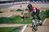 #213 (NAKAI Asuma) JPN at Round 1 of the 2020 UCI BMX Supercross World Cup in Shepparton, Australia