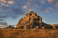 Dramatic landscape. Rugged hills under a big dramatic sky, Magical Madagascar. Landscape and nature fine art photography. Landscape wall art for sale.