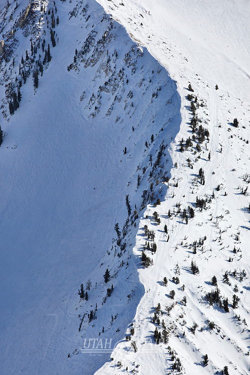 Ski ridge at Snowbird Resort