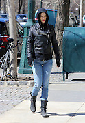 March 23, 2015 - New York City, NY, USA - <br /> <br /> Krysten Ritter On Set<br /> <br /> Actress Krysten Ritter was on the set of the new TV show 'AKA Jessica Jones' on March 23 2015 in New York City  <br /> ©Exclusivepix Media