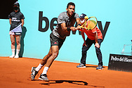 Felix Auger-Aliassime of Canada during the Mutua Madrid Open 2021, Masters 1000 tennis tournament on May 4, 2021 at La Caja Magica in Madrid, Spain - Photo Laurent Lairys / ProSportsImages / DPPI