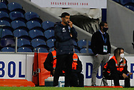 Porto manager Sergio Conceicao looks on during the Portuguese League (Liga NOS) match between FC Porto and Maritimo at Estadio do Dragao, Porto, Portugal on 3 October 2020.