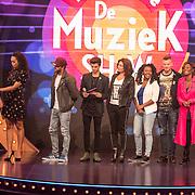NLD/Almere/20170918 - Presentatie Lang Leve de Muziek Show, Buddy Vedder en Romy Monteiro en de juryleden