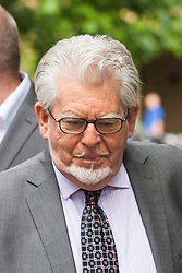 London, May 21st 2014. Entertainer Rolf Harris arrives at Southwark Crown Court where his trial on 12 counts of indecent assault against girls aged between 7 and 19 continues.