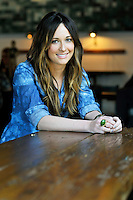 Kacey Musgraves poses for a portrait at the Barista Parlor Wednesday, Feb. 20, 2013 in Nashville, Tenn. (Photo by Donn JonesInvision/AP)