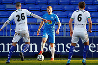 Will Collar. Stockport County FC 2-0 Chesterfield FC. Vanarama National League. 27.2.21 Edgeley Park.