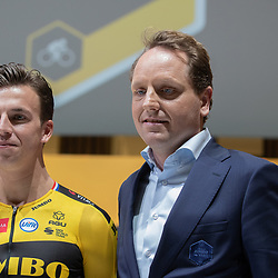 10-12-2019: Wielrennen: Teampresentatie Jumbo Visma: Amsterdam<br />Dylan Goenewegen, Merijn Zeeman