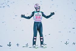 01.01.2020, Olympiaschanze, Garmisch Partenkirchen, GER, FIS Weltcup Skisprung, Vierschanzentournee, Garmisch Partenkirchen, Wertungssprung, im Bild Stefan Kraft (AUT) // Stefan Kraft of Austria during his competition Jump for the Four Hills Tournament of FIS Ski Jumping World Cup at the Olympiaschanze in Garmisch Partenkirchen, Germany on 2020/01/01. EXPA Pictures © 2019, PhotoCredit: EXPA/ Dominik Angerer