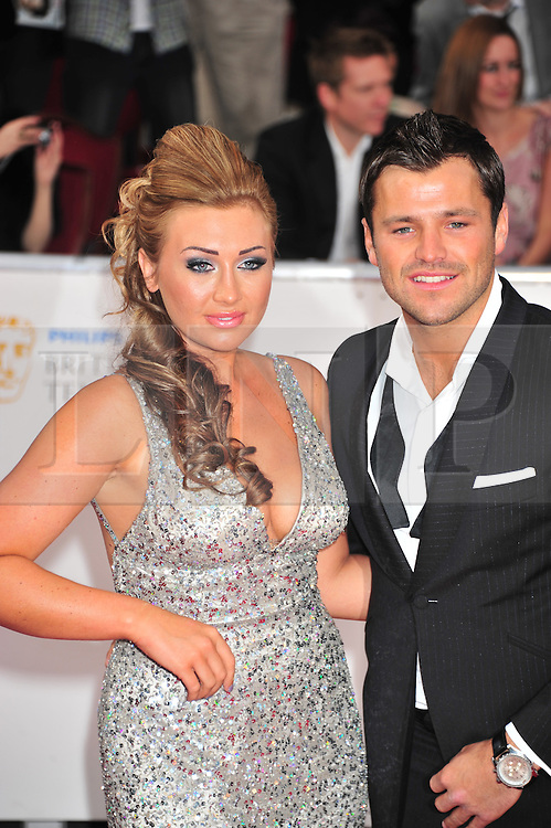 © licensed to London News Pictures. London, UK  22/05/11 Mark Wright; Lauren Goodger attends the BAFTA Television Awards at The Grosvenor Hotel in London . Please see special instructions for usage rates. Photo credit should read AlanRoxborough/LNP