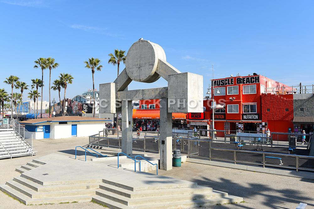 Muscle Beach Outdoor Gym Venice Beach