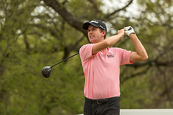March 23, 2018 - Austin, TX, U.S. - AUSTIN, TX - MARCH 23: Webb Simpson tees off during the WGC-Dell Technologies Match Play Tournament on March 22, 2018, at the Austin Country Club in Austin, TX. (Photo by David Buono/Icon Sportswire) (Credit Image: © David Buono/Icon SMI via ZUMA Press)