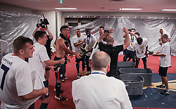 July 26, 2017 - Santa Clara, CA, USA - Santa Clara, CA - Wednesday July 26, 2017: The U.S. Men's national team celebrate winning the 2017 Gold Cup Championship by defeating Jamaica 2-1 in the Final during the 2017 Gold Cup Final Championship match between the men's national teams of the United States (USA) and Jamaica (JAM) at Levi's Stadium. (Credit Image: © John Dorton/ISIPhotos via ZUMA Wire)